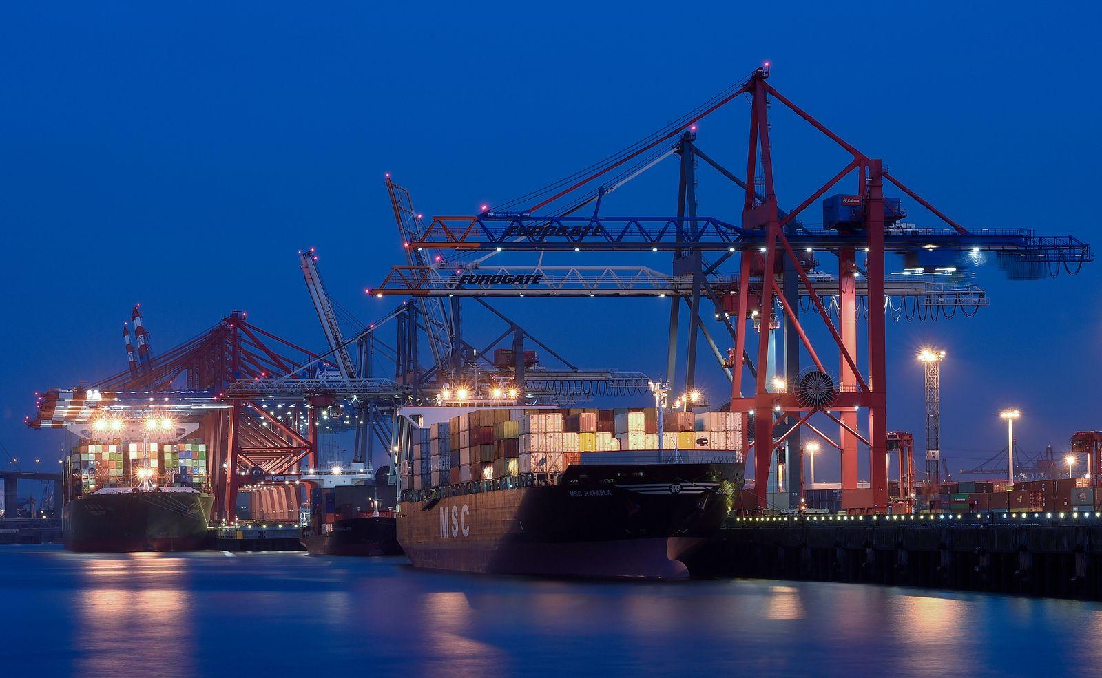 Containerschiff Hamburg (2014)