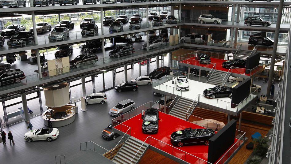 Daimler-Niederlassung in München: Verkaufen, zusammenlegen oder schließen