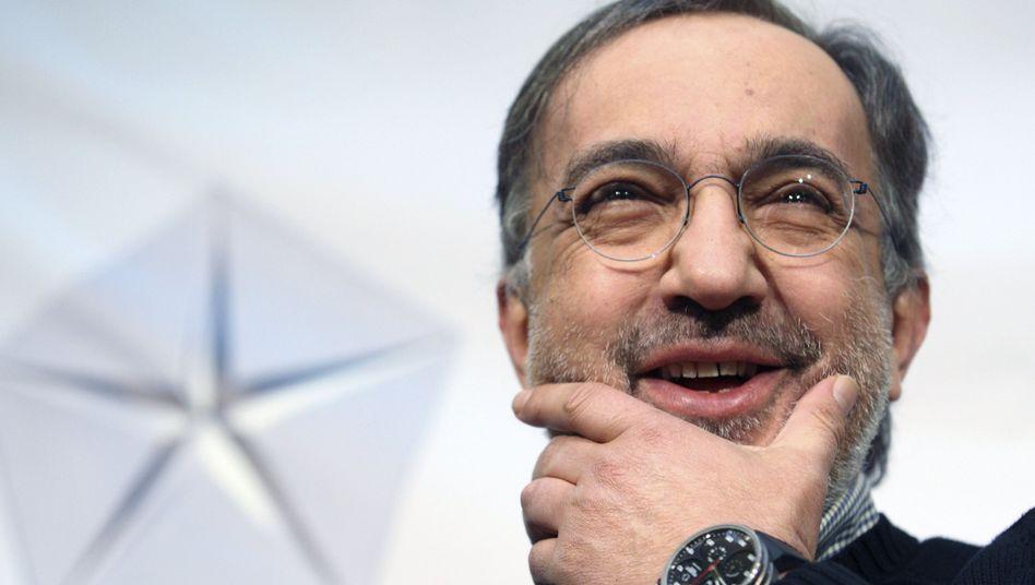Chrysler- und Fiat-Chef Sergio Marchionne: Übernahme perfekt