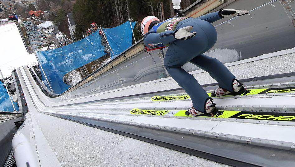 Karl Geiger, hier im Januar 2020 in Innsbruck