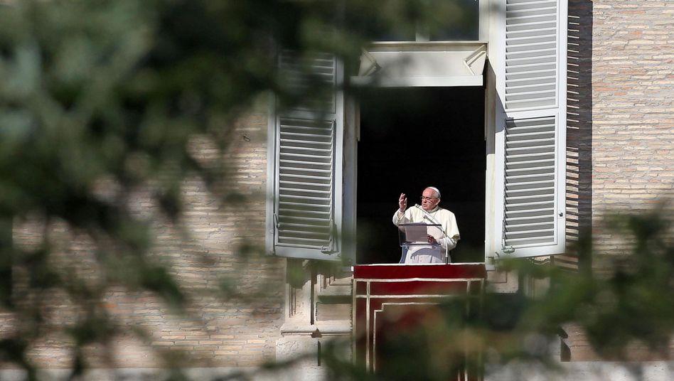 Räumt auf in der Vatikanbank: Papst Franziskus