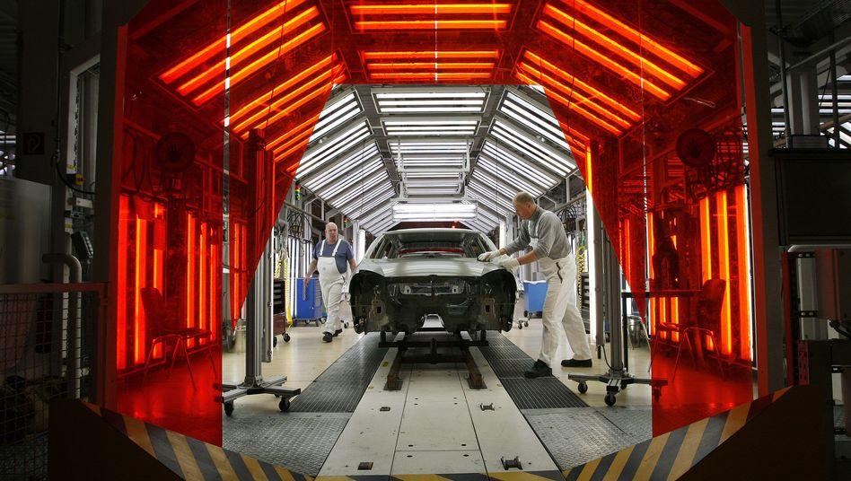 Volkswagen-Produktion in Wolfsburg