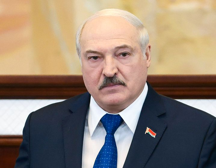 Alexander Lukaschenko erklärte sich nach der Wahl im August 2020 zum Präsidenten