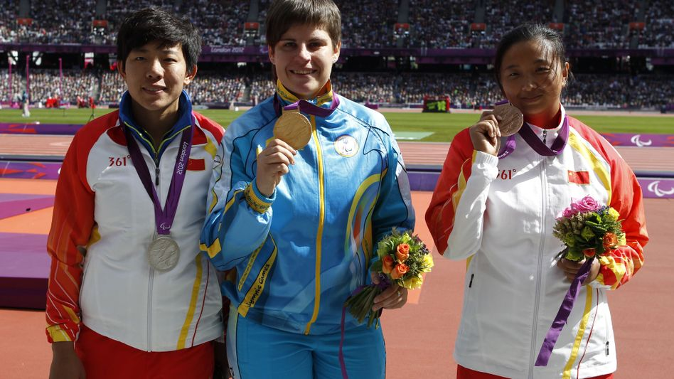 Diskuswerferin Pomasan: Jubel über Goldmedaille hielt nur kurz