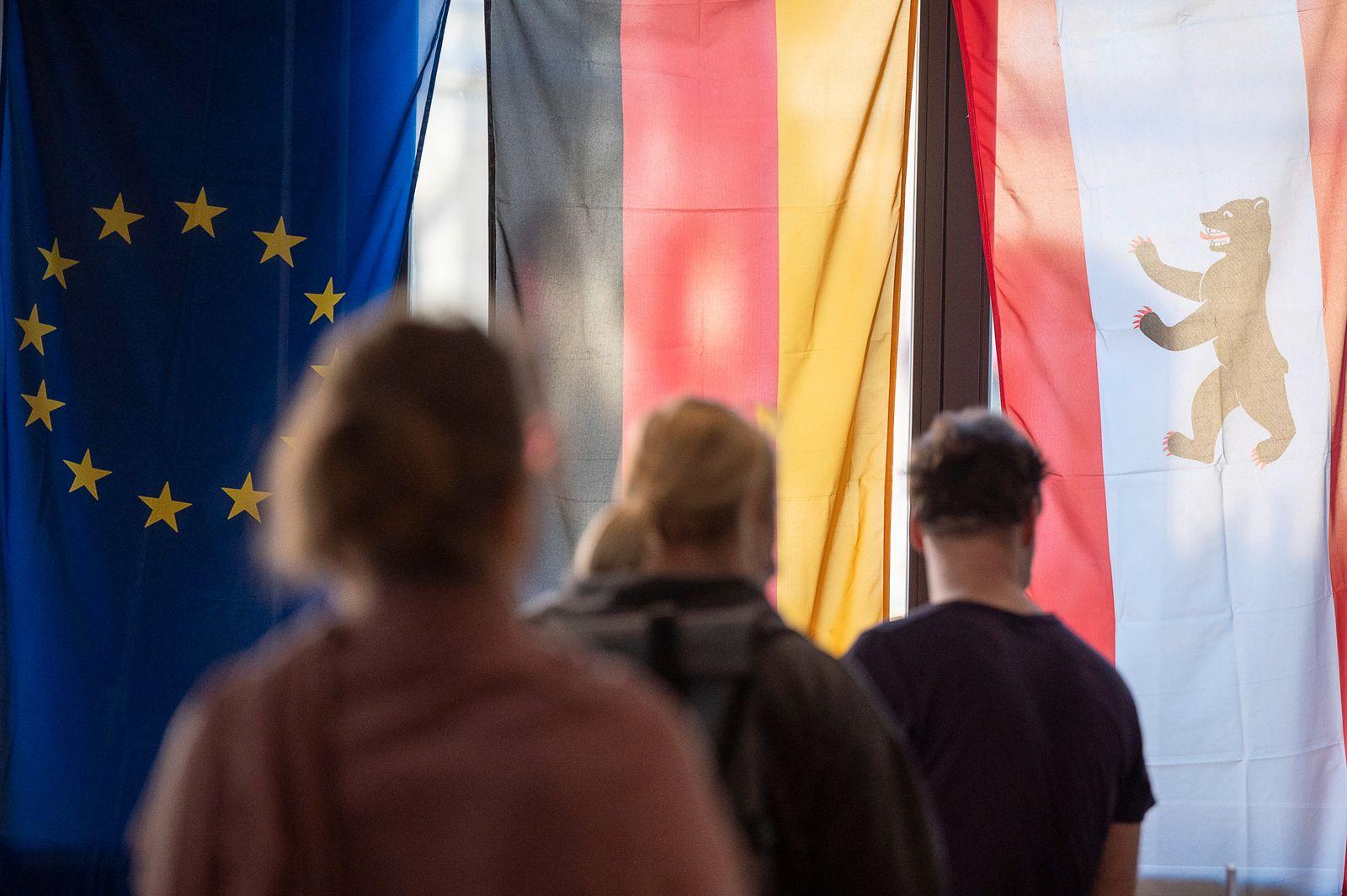 Bundestagswahl ? Wahllokal Berlin