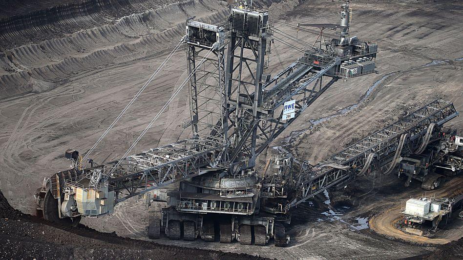 Braunkohle-Tagebau in NRW