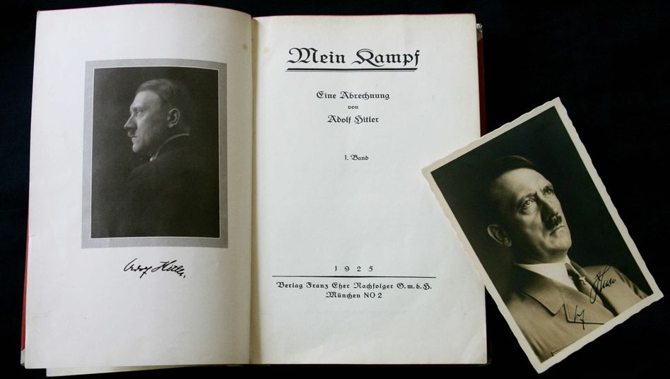 "Hitler's polemic ""Mein Kampf"" cannot be published in Germany until the copyright runs out in 2015."