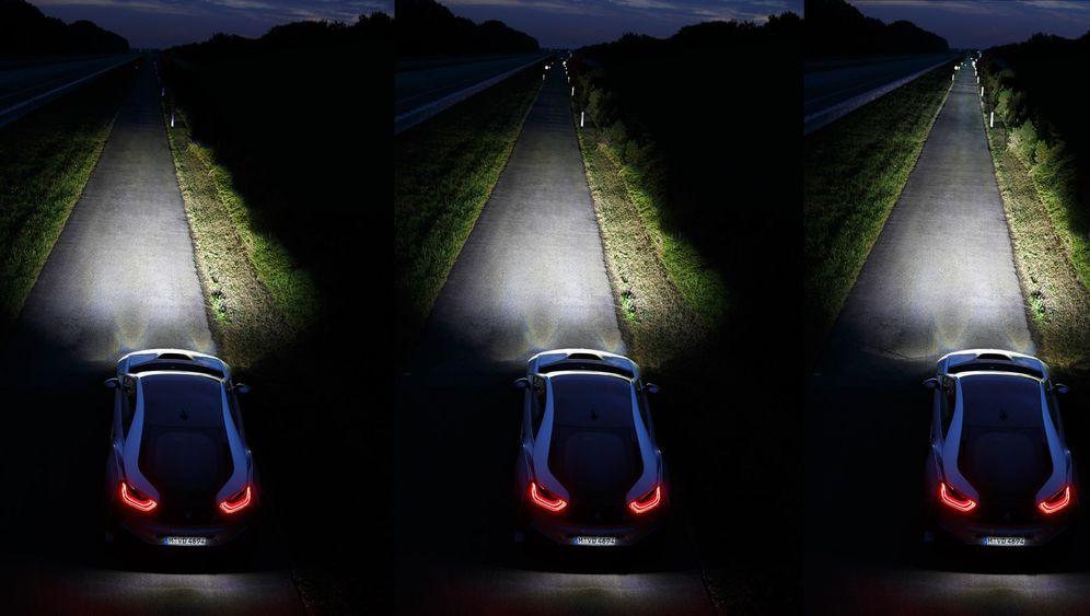 Neue Scheinwerfer:: Es werde Laserlicht