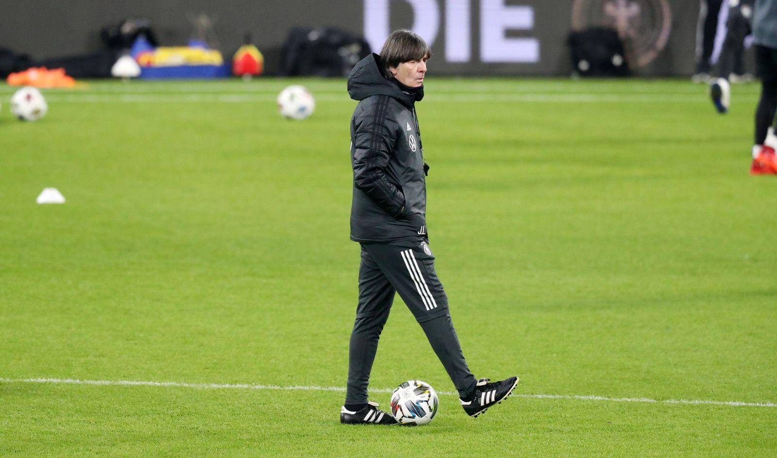 Training Deutschland / 10.11.2020 Leipzig, 10.11.2020, Fussball, Red Bull Arena, Training der Deutschen Nationalmannsch