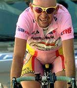 Radsportler Pantani: Rosanes T-Shirt