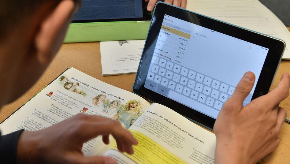 Tablets werden bereits häufig im Unterricht eingesetzt