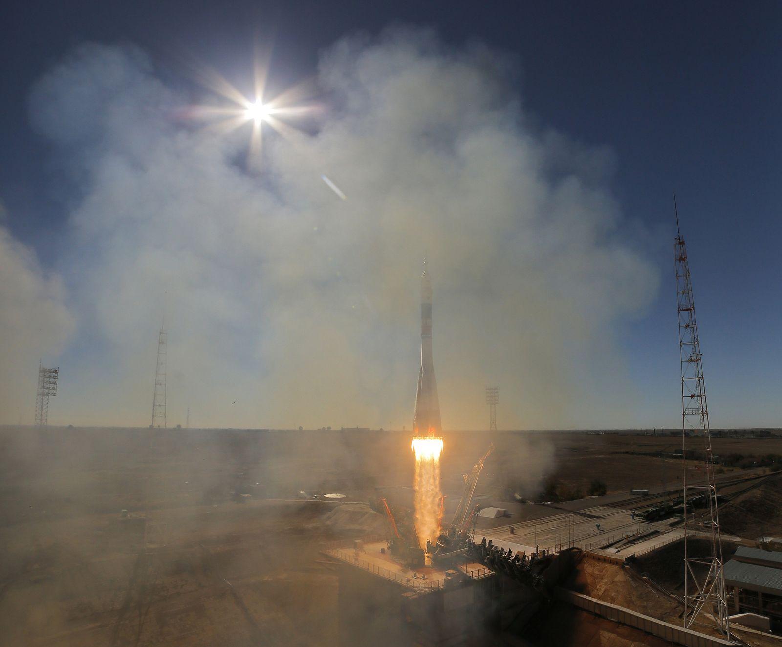 Start von bemanntem russischem Raumschiff fehlgeschlagen