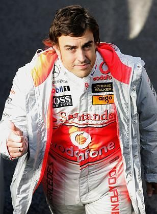 Weltmeister Alonso: Alles gewusst, alles gesagt, nicht bestraft