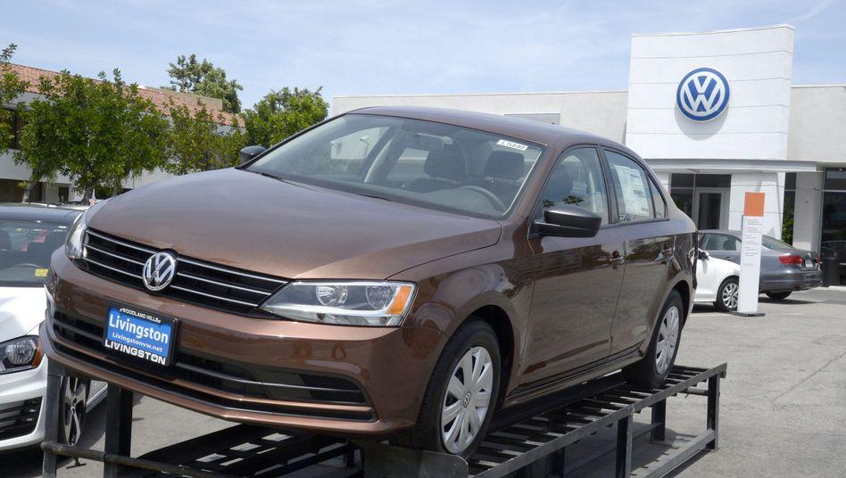 Volkswagen-Händler in Kalifornien