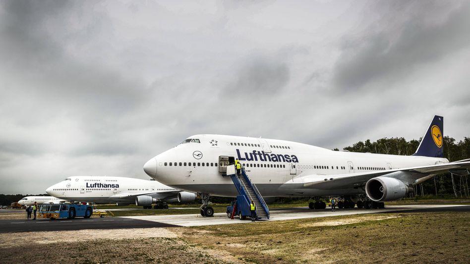 Boeing 747 in Enschede