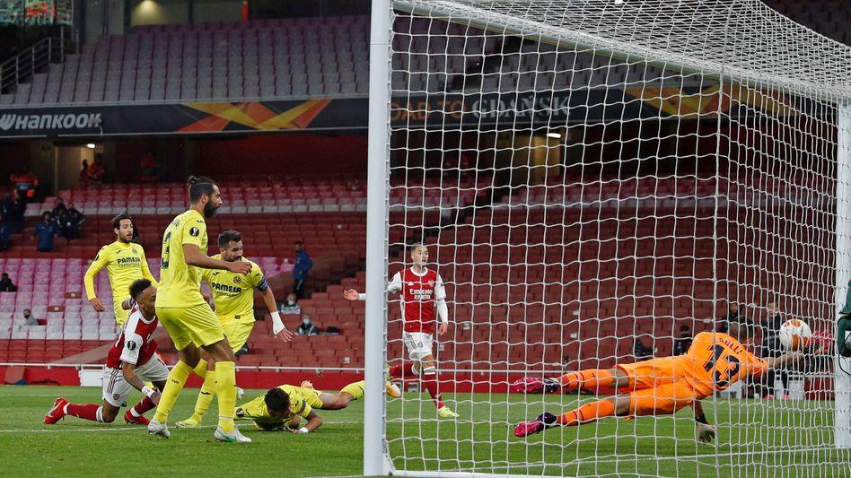Arsenals Pierre-Emerick Aubameyang