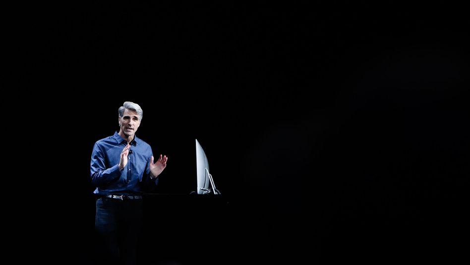 Apple-Manager Craig Federighi