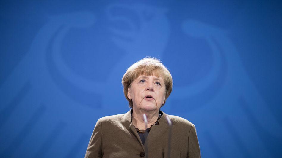 Bundeskanzler Angela Merkel (CDU)