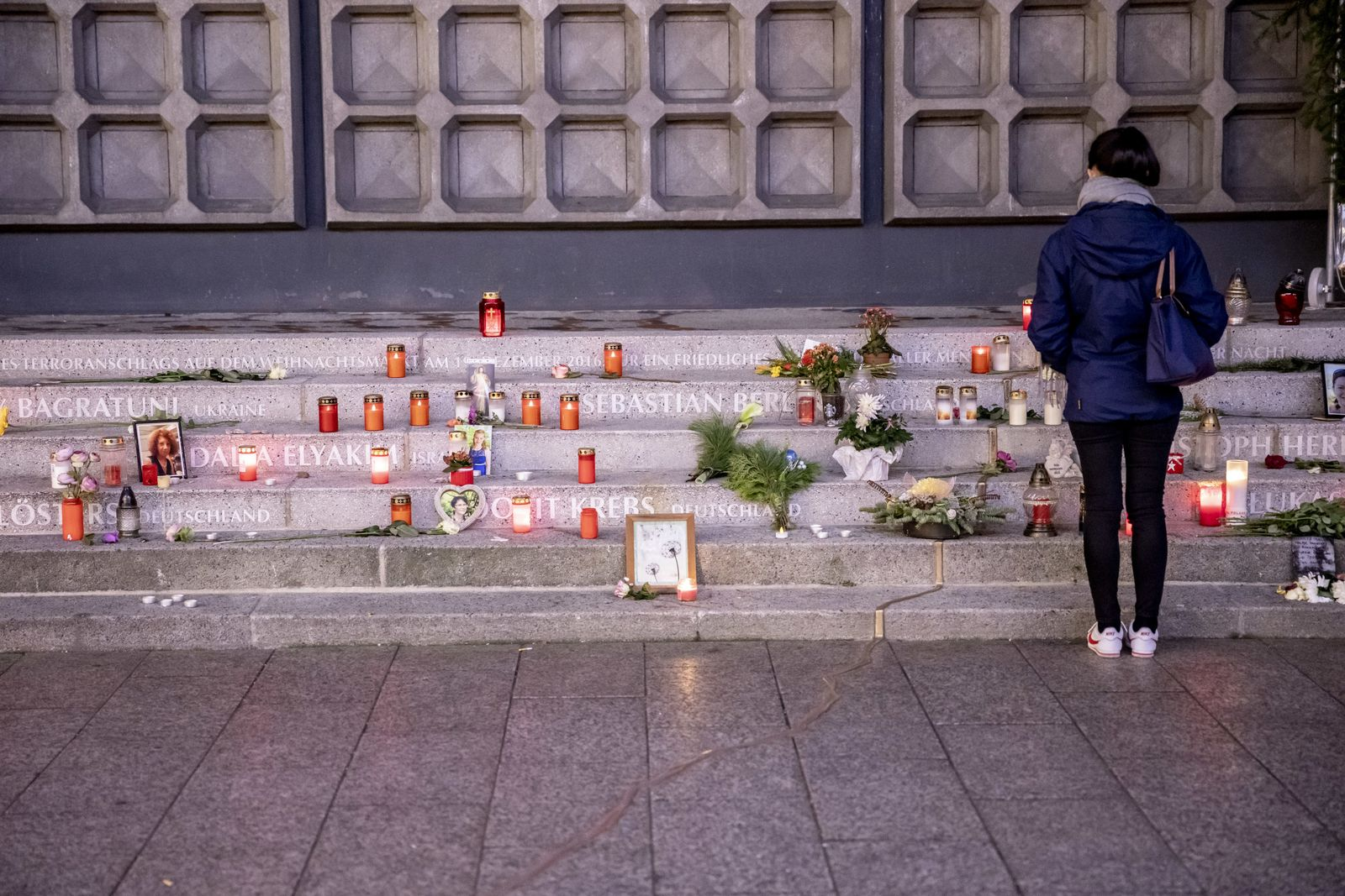 Gedenken an Opfer des Terroranschlags in Berlin 2016
