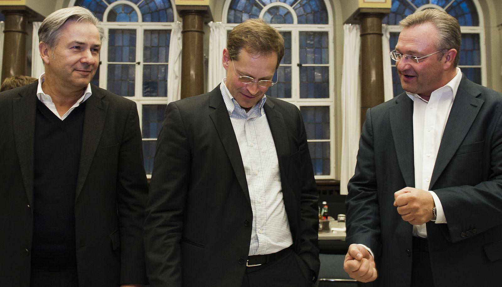 NICHT VERWENDEN Berliner Koalitionsverhandlungen