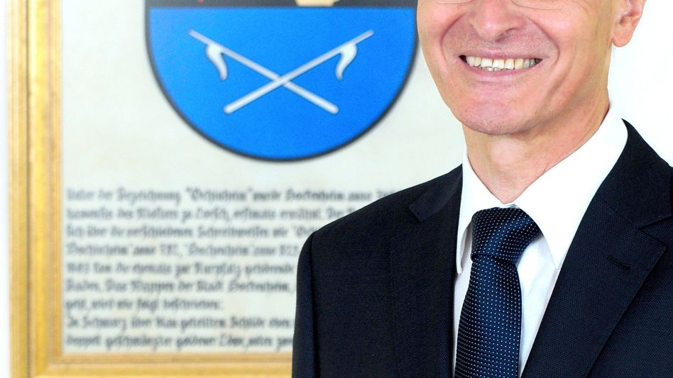 Liegt nach einem Angriff weiter im Krankenhaus: Hockenheims Oberbürgermeister Dieter Gummer (SPD).