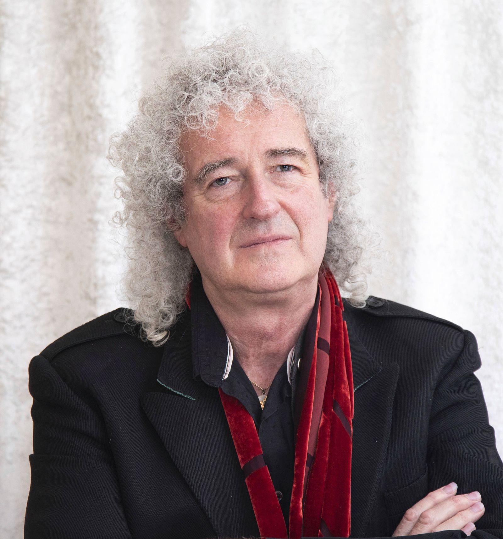 January 5, 2019 - Hollywood, California, USA - Brian May from the Band Queen. Brian has a new song o