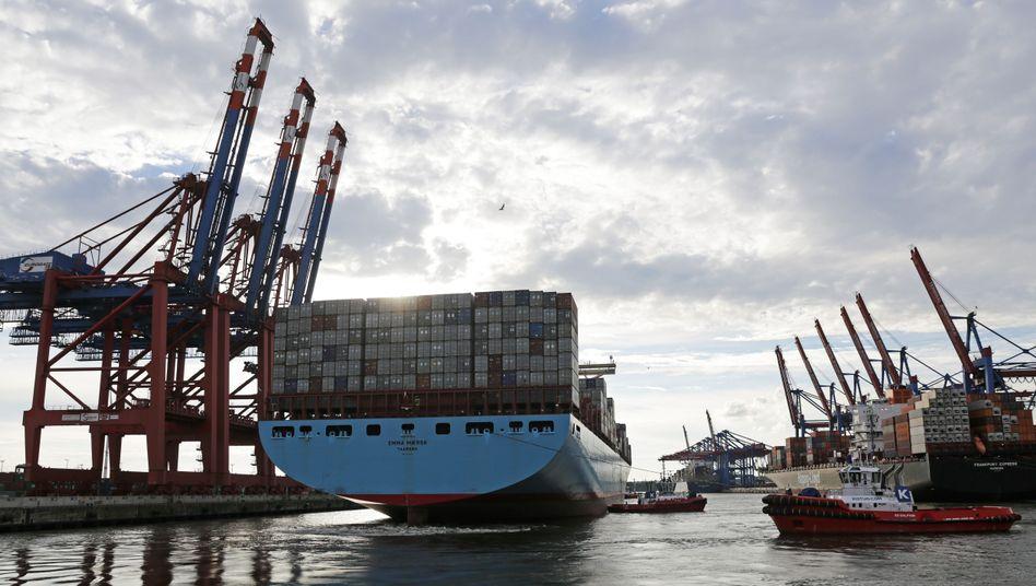 """Containerschiff in Hamburg: Prognosen kollabieren """"wie ein Soufflé"""""""