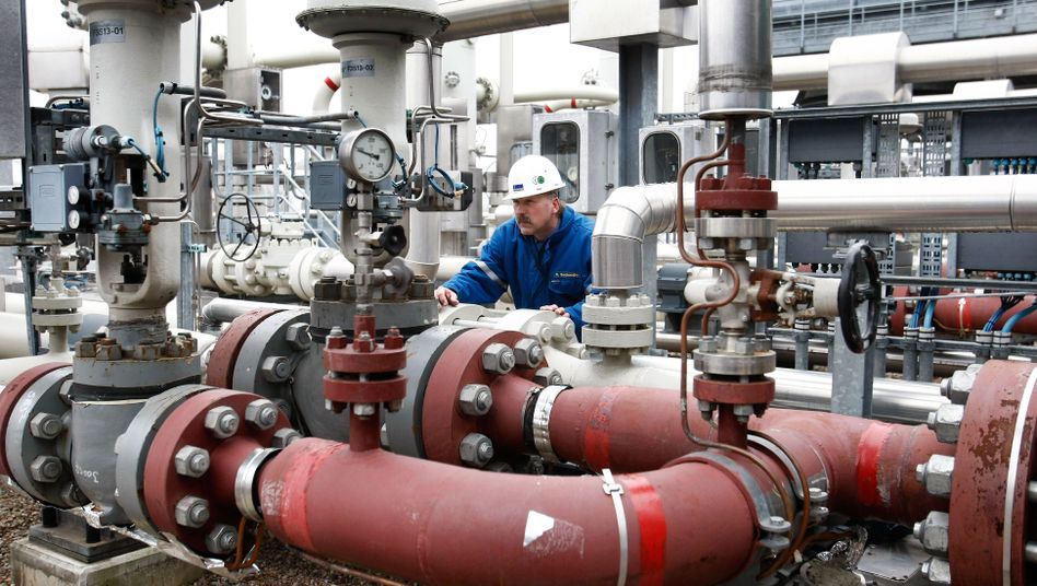 Gasspeicher in Rehden (Archivbild): Engpässe im kommenden Winter befürchtet