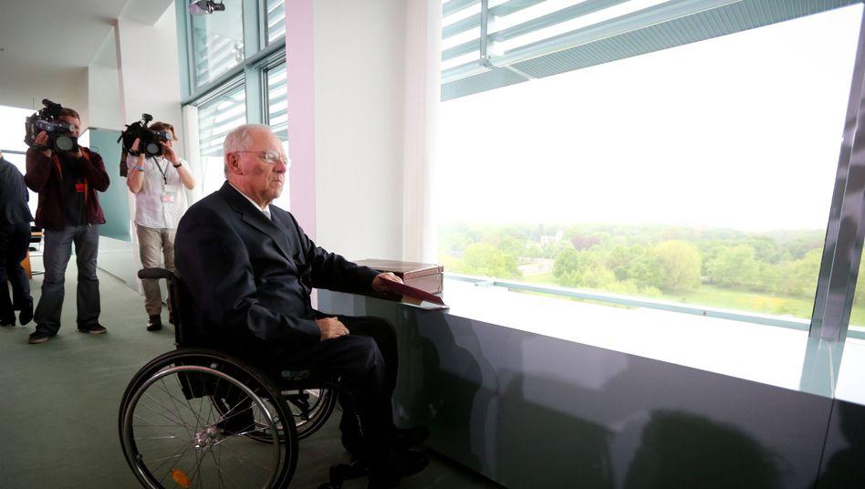 Steuerschätzung: Schäuble gibt den entspannten Zahlmeister