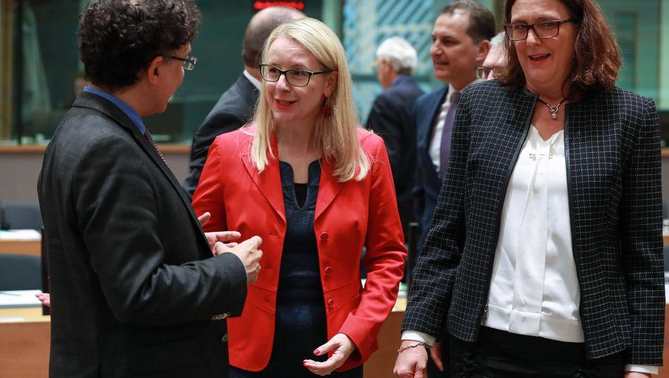 Margarete Schramböck, Cecilia Malmström
