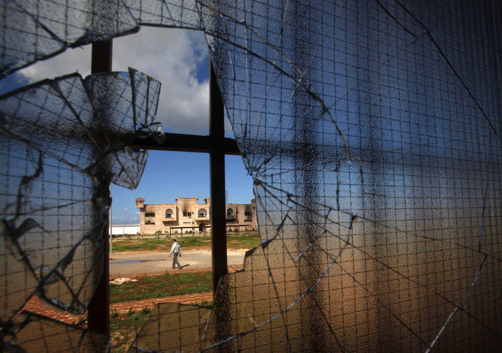 Gefängnis in Libyen