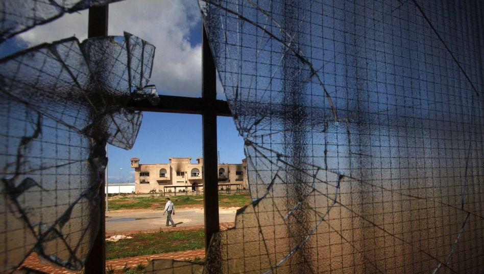 Gefängnisanlage in Libyen (Symbolbild)