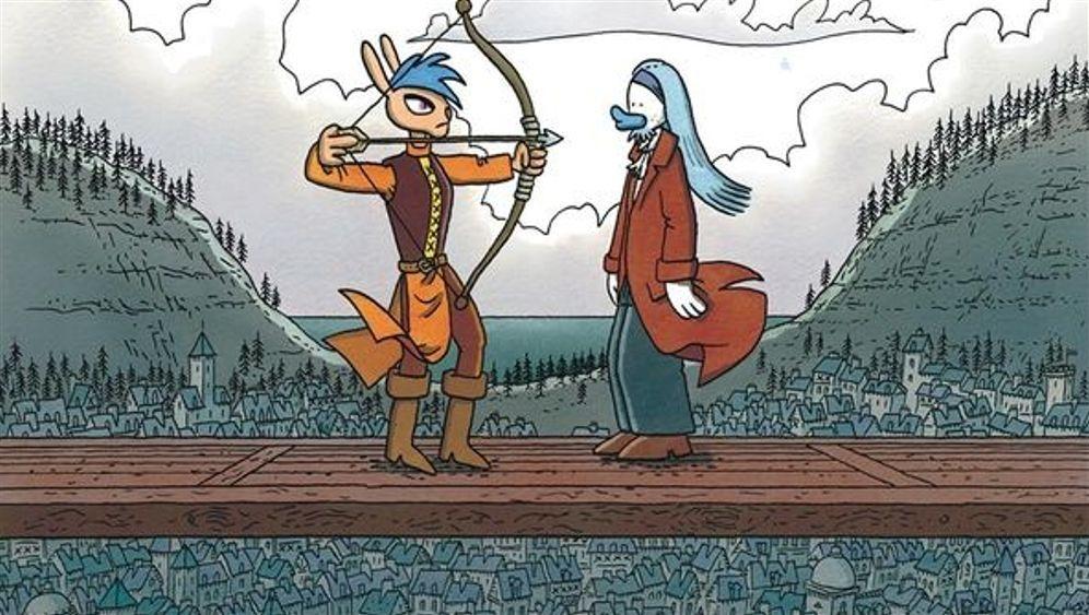 Comics von Lewis Trondheim: Ohne Worte
