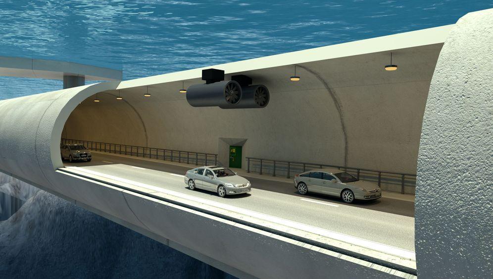 Schwebende Tunnel: Weltneuheit aus Norwegen