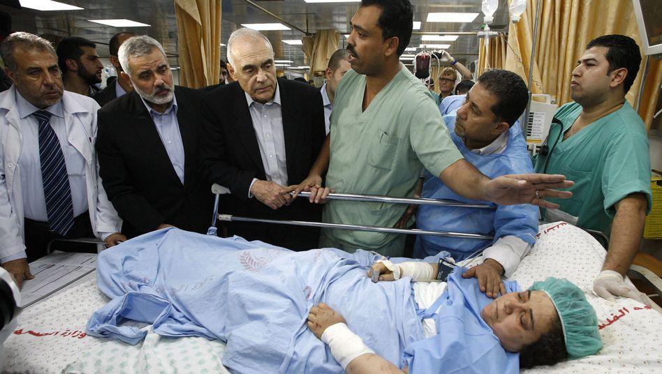 Krankenhaus in Gaza-Stadt: Aufbauhilfe aus Deutschland