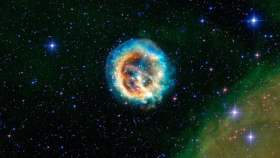 Explodierter Stern: Ein Schweizer Unternehmer will Energie aus Supernovas vermarkten