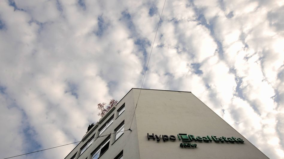 Zentrale der Hypo Real Estate (HRE) AG: Hohe Boni trotz Verlust