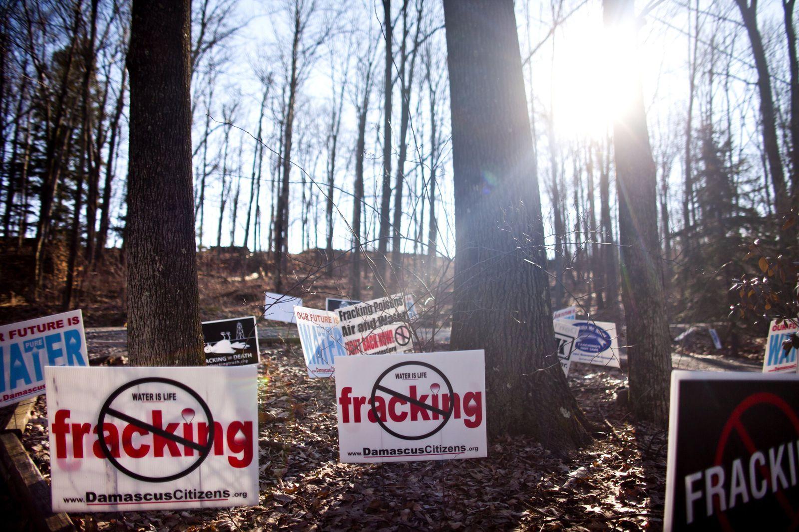 Proteste / Fraking