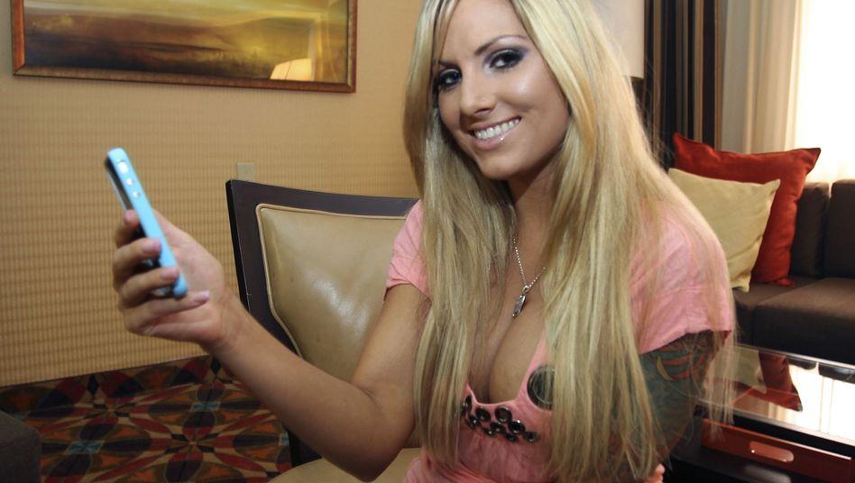 Pornodarstellerin Teagan Presley: Geschäftsmodell Striptease im Videochat