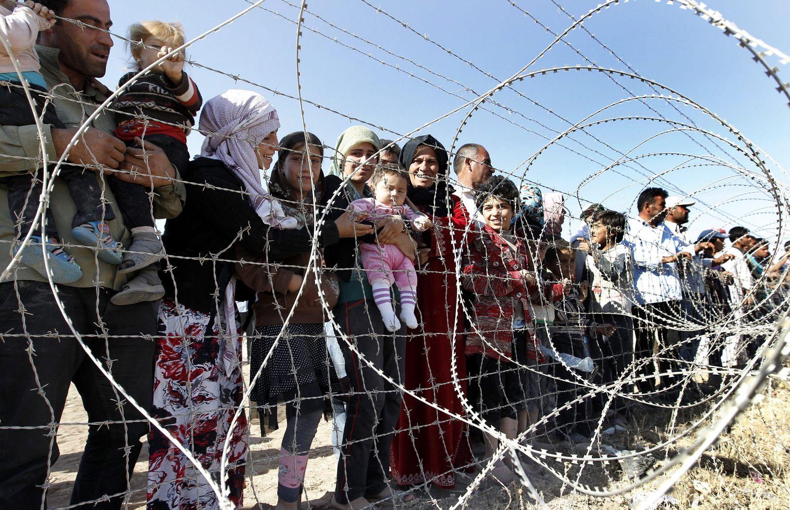 Syrien/ Türkei/ Flüchtlinge