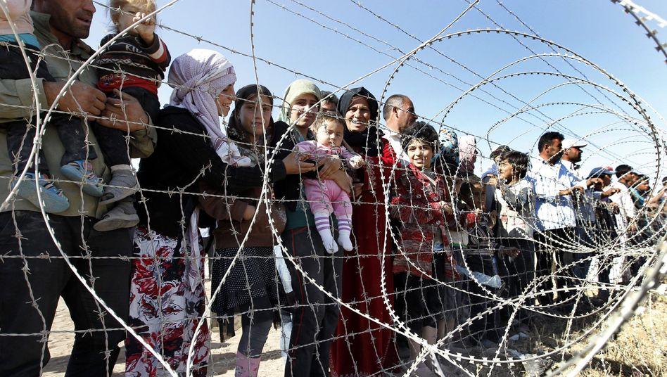 """Syrische Flüchtlinge bei Sanliurfa: """"Berichte über die Tötung von Zivilisten"""""""