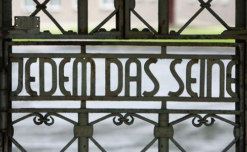 Lagertor des KZ Buchenwald: Übler Patzer der Schüler-Union