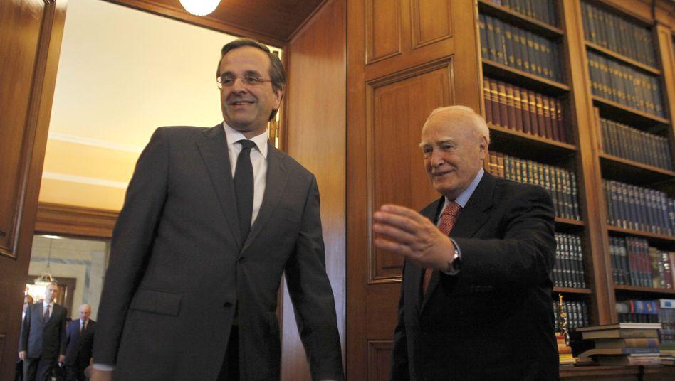 Staatskrise: Griechenlands Polit-Prominenz wurstelt sich durch