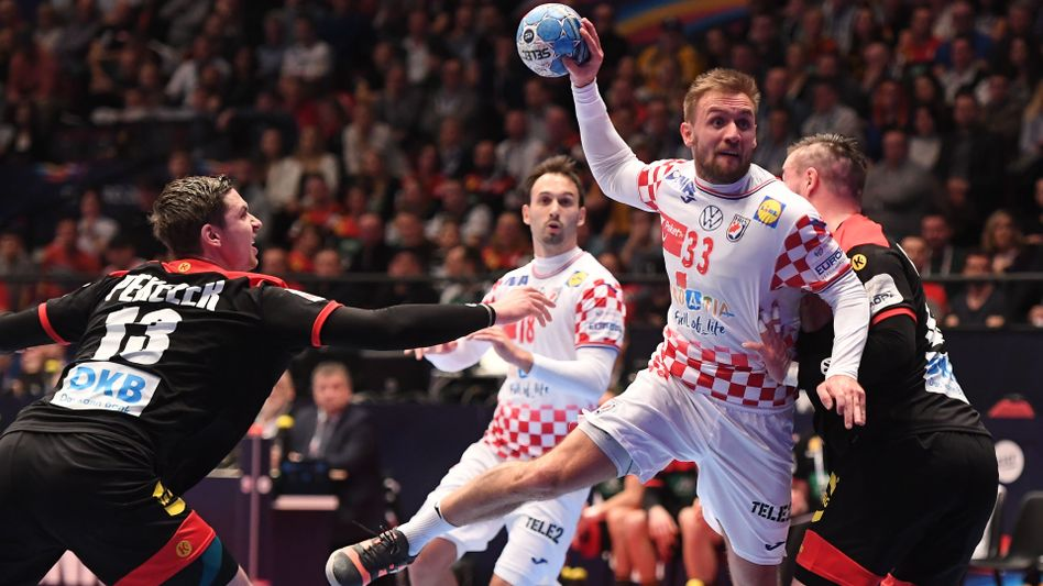 Der kroatische Spielmacher Luka Cindric war bei drei seiner sechs Abschlüsse erfolgreich