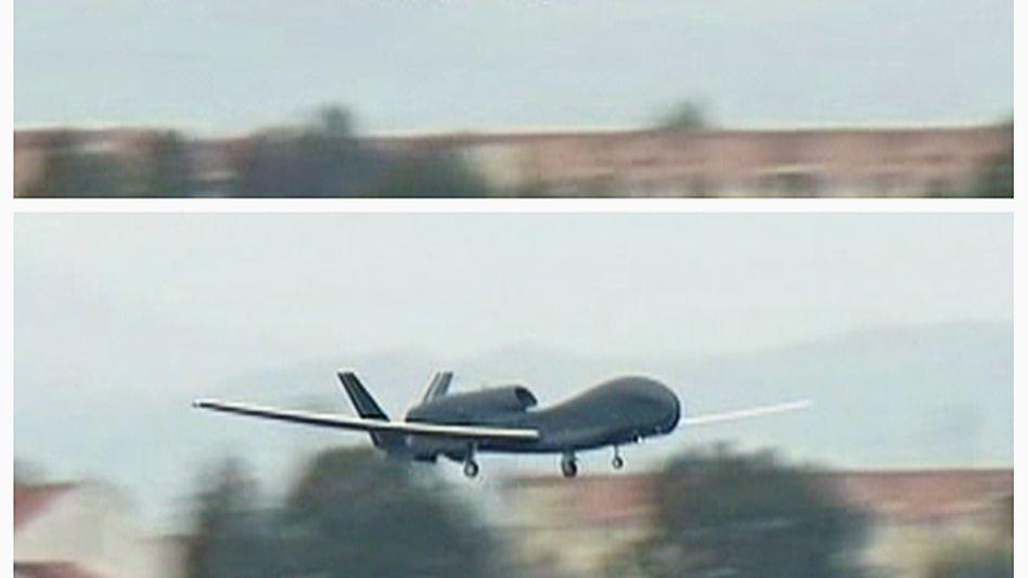 US-Drohne vom Typ Global Hawk: Demnächst könnte Nordkoreas damit überwacht werden
