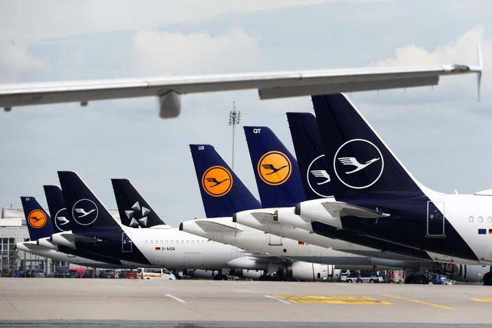 """Geparkte Jets in München: """"Man fährt dann nicht auf Sicht, man fährt mit Daten aus der Vergangenheit"""""""