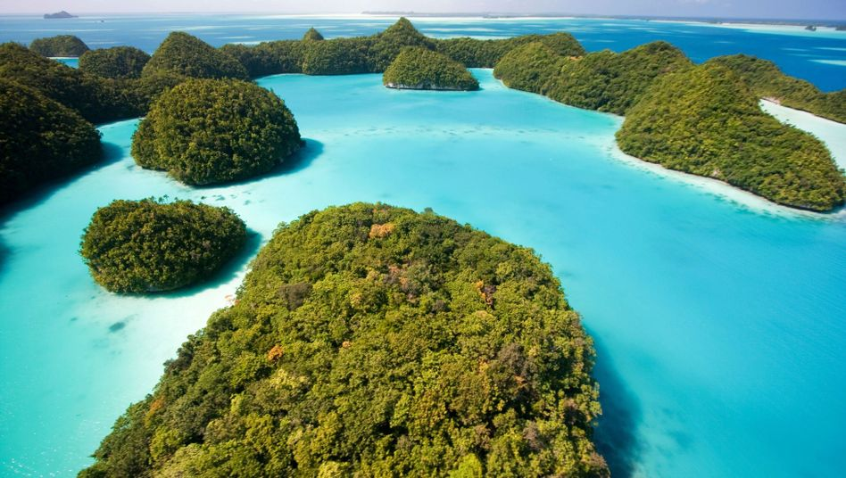Inselparadies von Palau