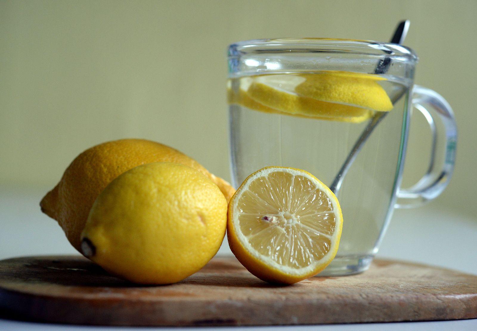 Heiße Zitrone / Erkältung