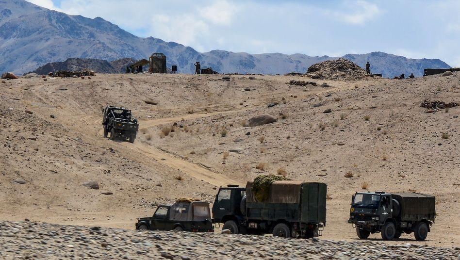 Der Truppenabzug im Himalaja hat offenbar bereits begonnen