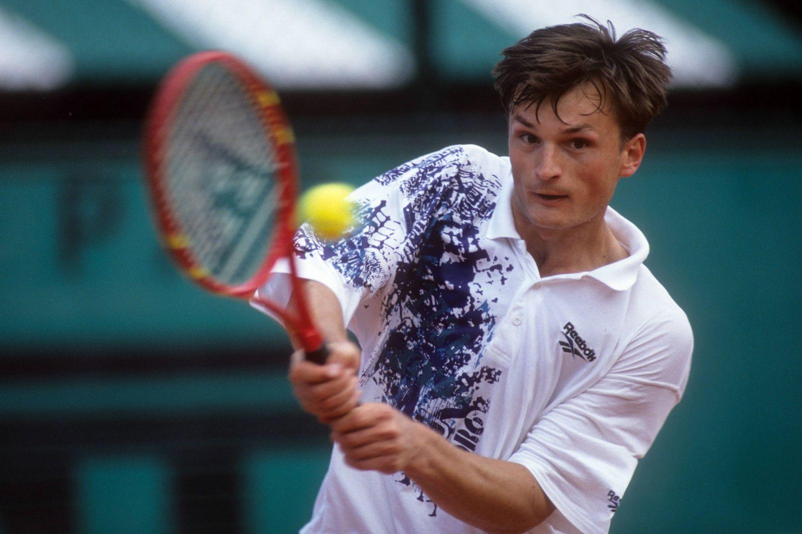 EINMALIGE VERWENDUNG Alexander Volkov/ Tennis